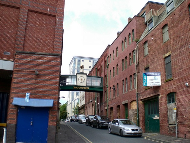 This is the section of Glover's Court due to be redeveloped