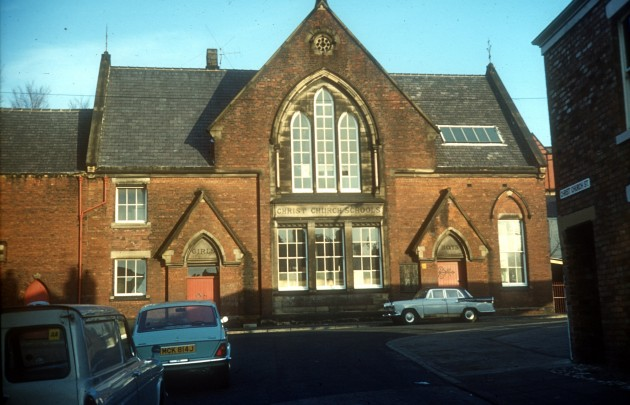Christ Church School, Bow Lane, Preston c.1972