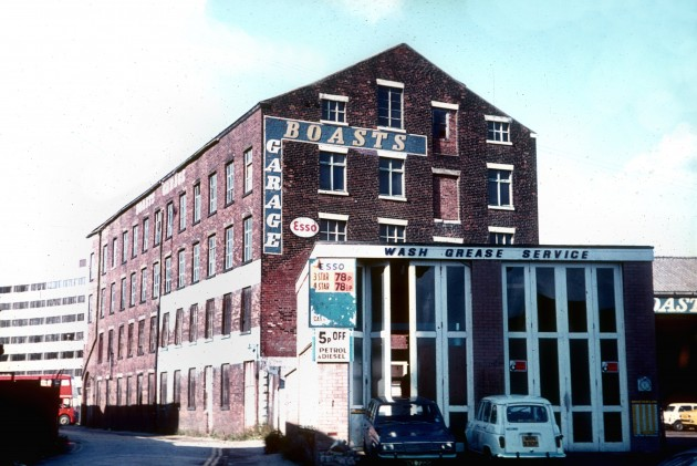 A. Boast & Co. Ltd., Empire Garage, Derby Street, Preston c.1977