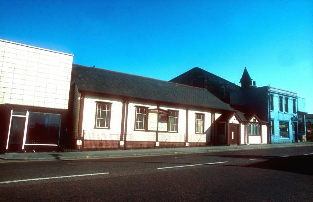 Railway Mission, Corporation Street, Preston c.1970