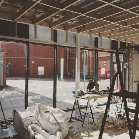 Work is well underway and on target to create Preston's new and exciting restaurant