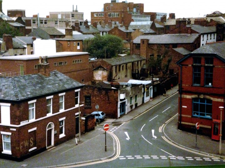 Lambert Bros Printers, Glovers Court, Preston c.1985
