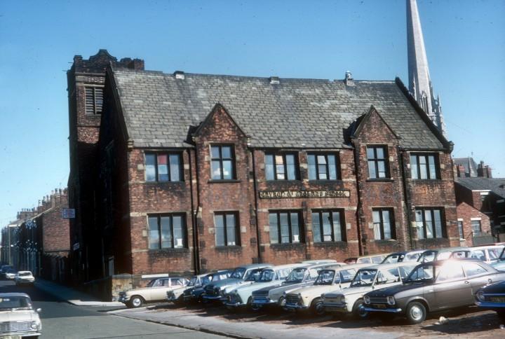 St. Marks School, Wellfield Road, Preston 1973