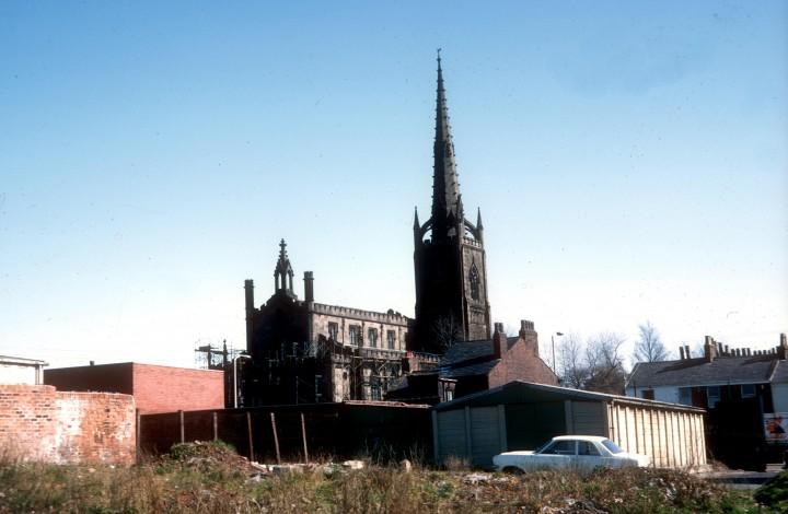 St Peter's Church, Fylde Road, Preston c.1979