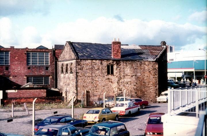 Former Canal Warehouse, Corporation Street, Preston c.1978