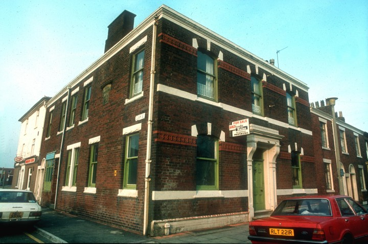 Former Medical Association Building, St Paul's Square, Preston c1978.