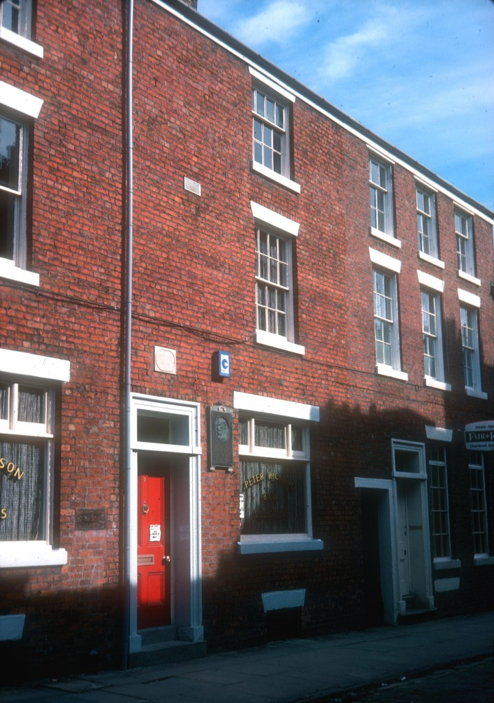 Birthplace of Francis Thompson, 7 Winckley Street, Preston c.1979