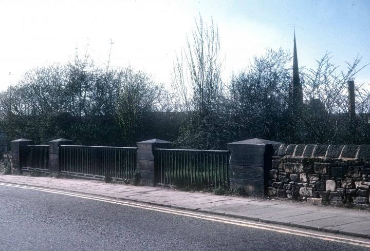 Former Lancaster Canal Bridge, Marsh Lane, Preston 1975