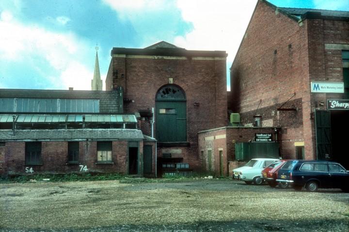 Former Horrockses Engine House, Yard Works, Stanley Street, Preston c.1976