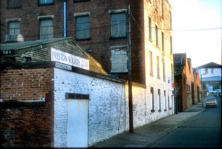 Former Broomfield Mill, Broomfield Mill Street, Preston c.1978