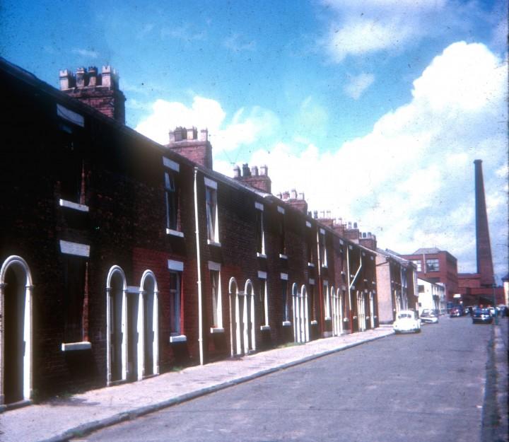 Terraced Housing, Livesey Street, Preston 1971