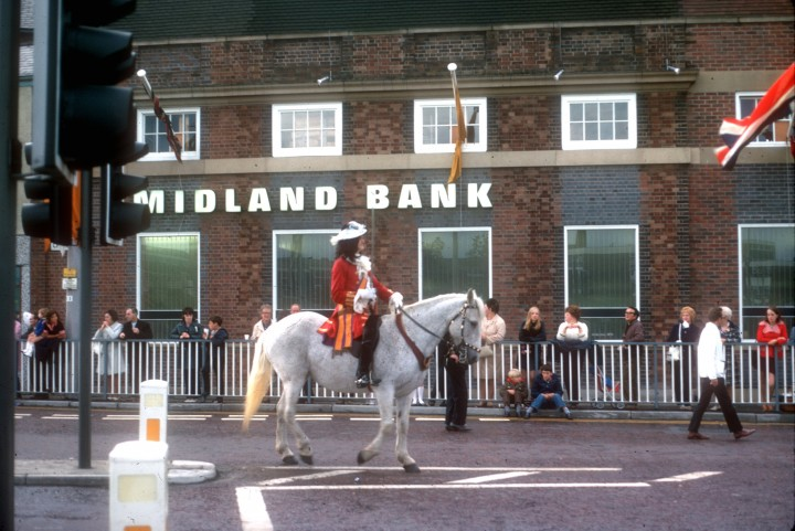 Guild Parade, Church Street, Preston 1972