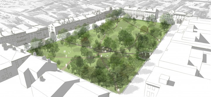 Winckley Square - Model View