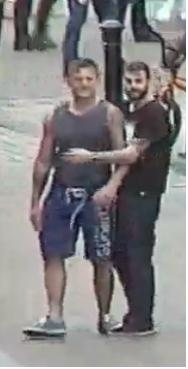 Police believe these two men may have witnesses the fight