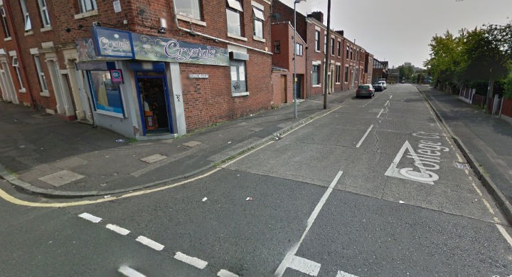 The incident happened in an alleyway between College Court and Ripon Street
