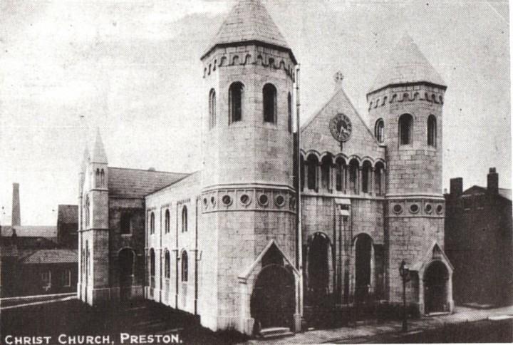 Christ Church, Fishergate Hill, Preston - Pic: Preston Digital Archive