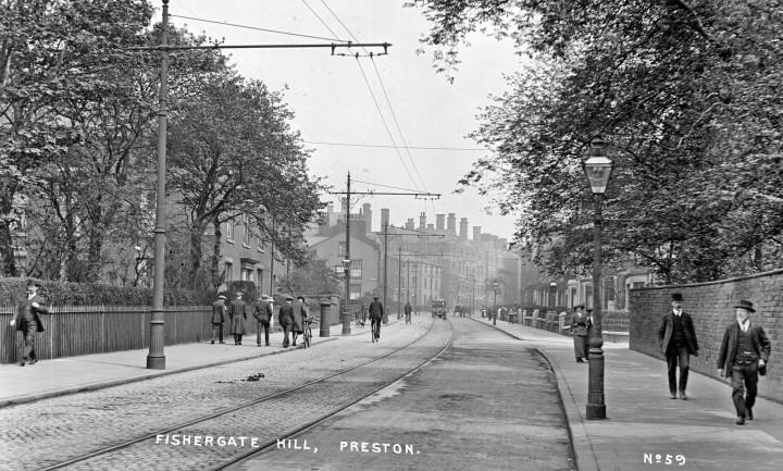 Fishergate Hill, Preston - Pic: Preston Digital Archive