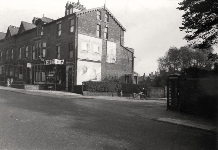Junction of Fishergate Hill & West Cliff, Preston 1950 - Pic: Preston Digital Archive