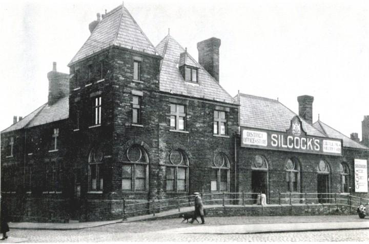 Former West Lancashire Railway Station, Fishergate Hill Preston - Pic: Preston Digital Archive