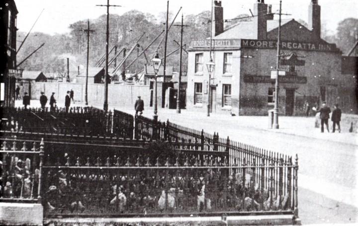 Moores Regatta Inn, Fishergate Hill & Strand Road, Preston c.1911- Pic: Preston Digital Archive