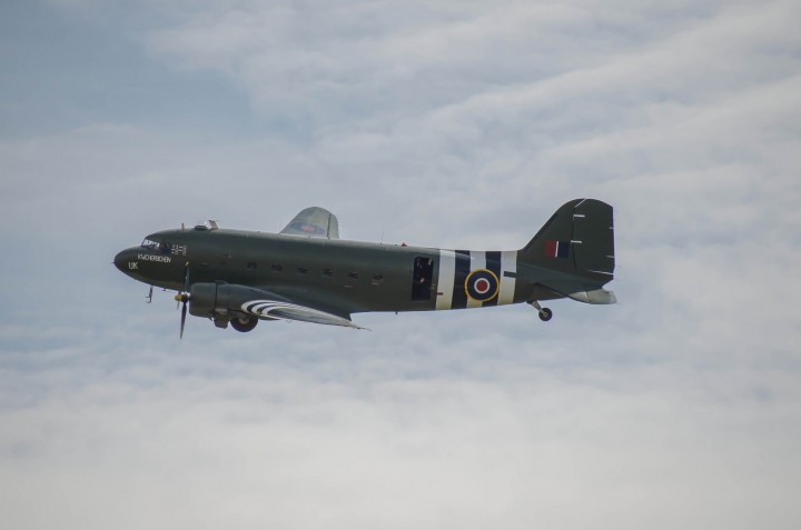 The Dakota had been due to fly over Preston Pic: Rob Reedman