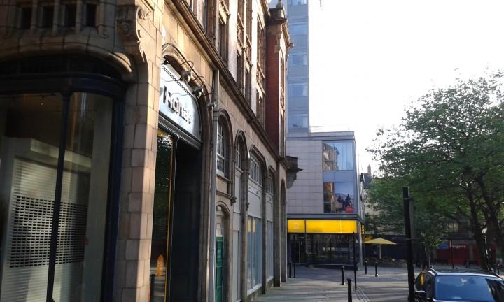 Unit 17 and 18 run along up Birley Street