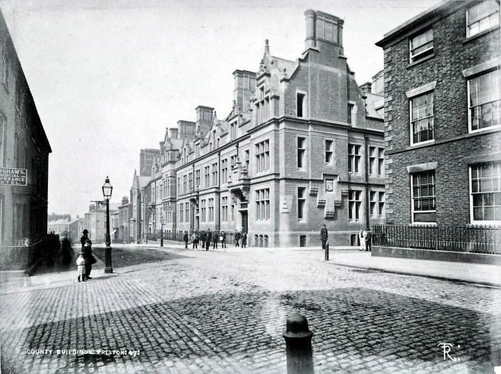 County Buildings, Preston 1882 - Pic: Preston Digital Archive