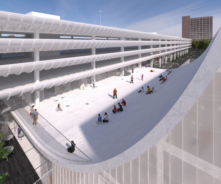 Preston Bus Station design 1