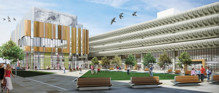 Preston Bus Station design 3
