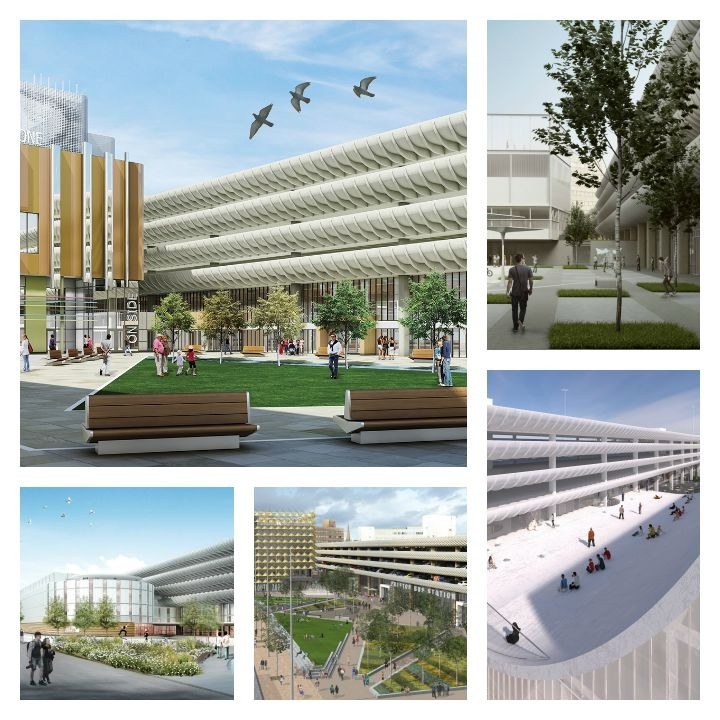 Five shortlisted designs for Preston Bus Station
