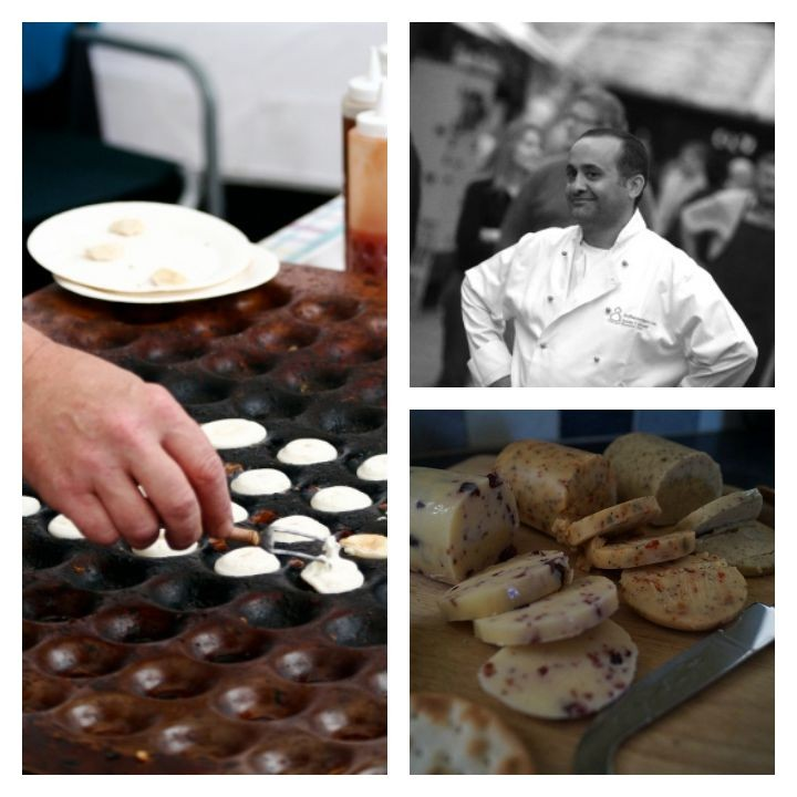 From cheese to sweet treats will be on offer at the food festival, and demonstrations from Aazam Ahmad