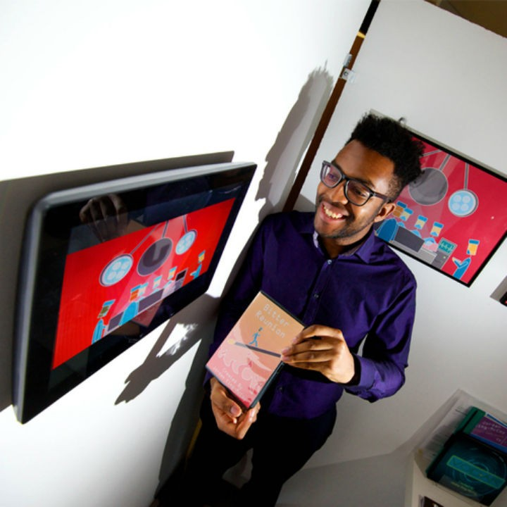Jordan King-McCoy with his animation
