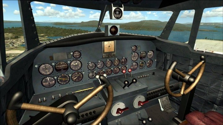 Still from the simulator taken from Facebook