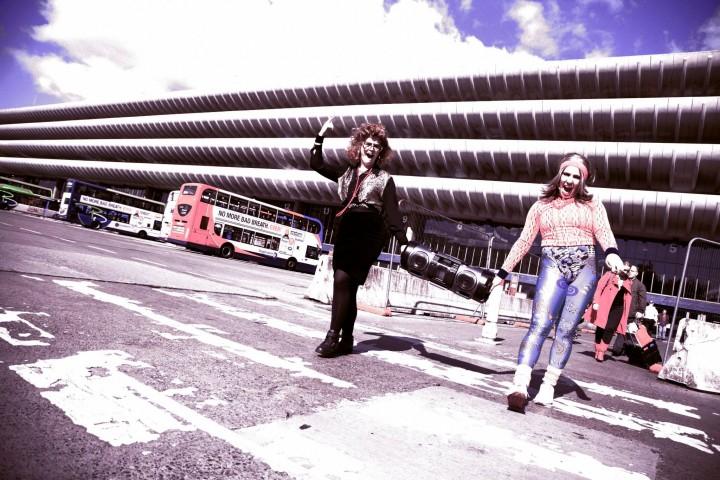 Outside Preston Bus Station Pic: Ashley Hardman