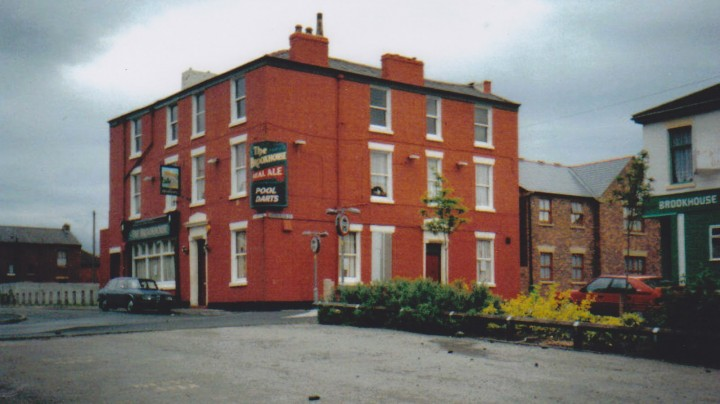 The Brookhouse in the 1980s Pic: Preston Pubs Blog