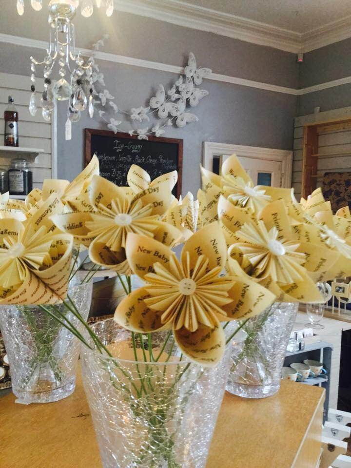 Handmade personalised flowers are a big hit at How The Other Half Live