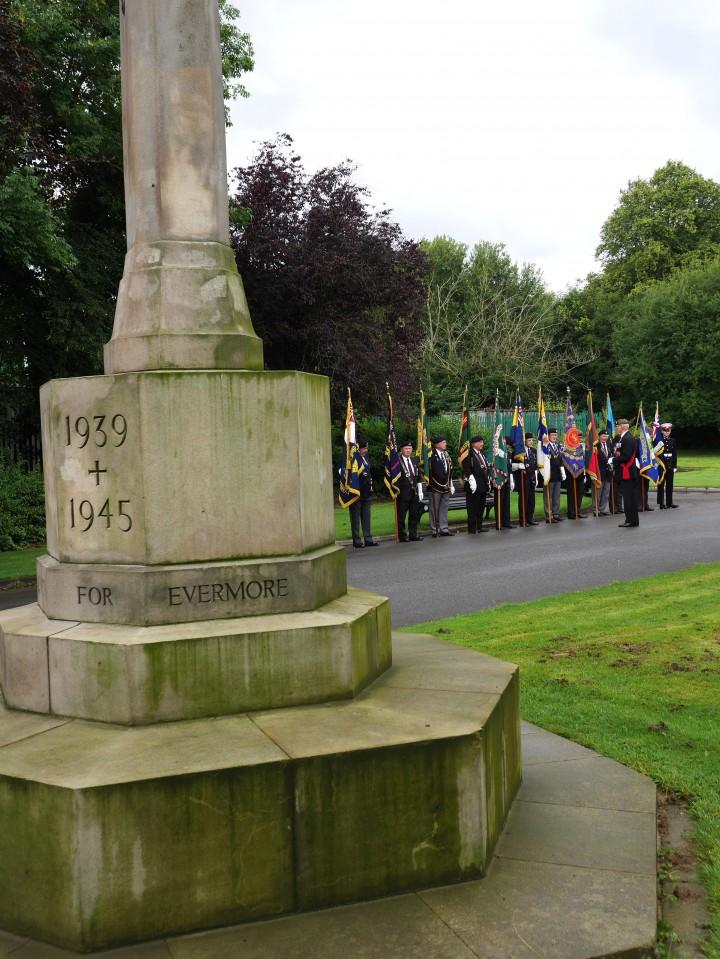 VJ Day Preston Cemetery Memorial (2)