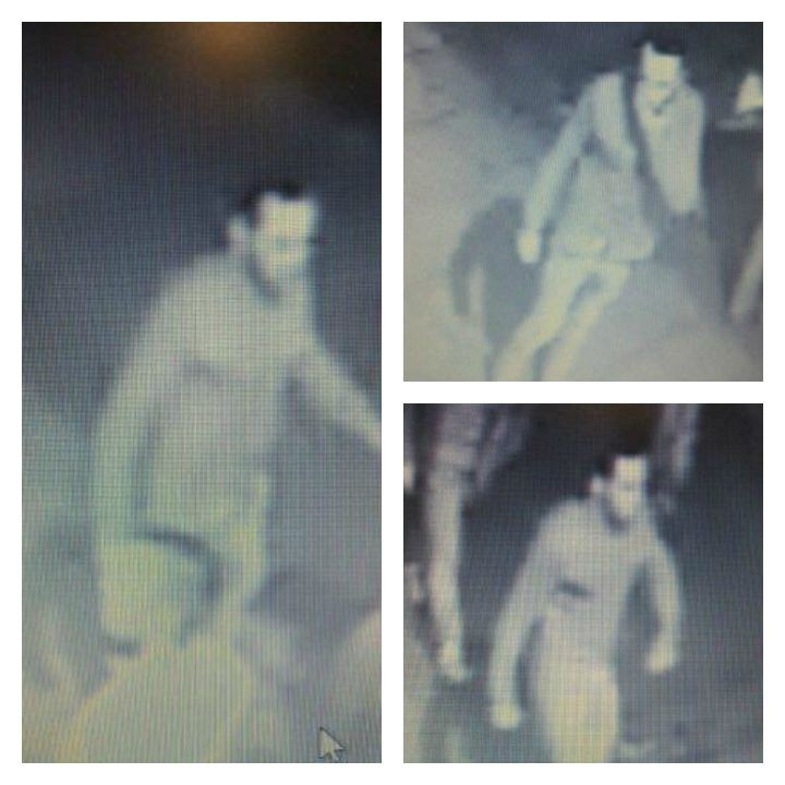 Police would like to speak to the man pictured