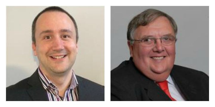 Cllr Jason Jeffrey and Cllr John Swindells