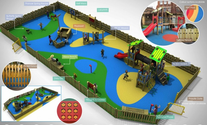 How the proposed playground may look