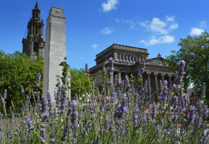 A sunny day in Preston city centre Pic: Tony Worrall