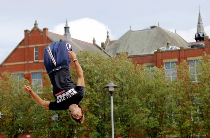 UCLan is moving up the university rankings for the number of satisfied students Pic: Keith Byers