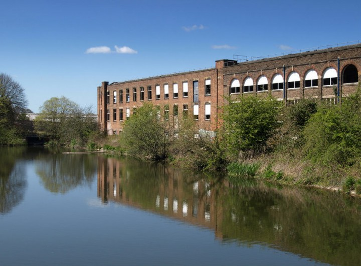 The Vernon Carus factory is to be demolished as part of the plans Pic: Tony Worrall