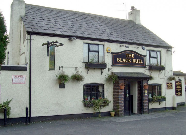 A traditional inn, the Black Bull Pic: Tony Worrall
