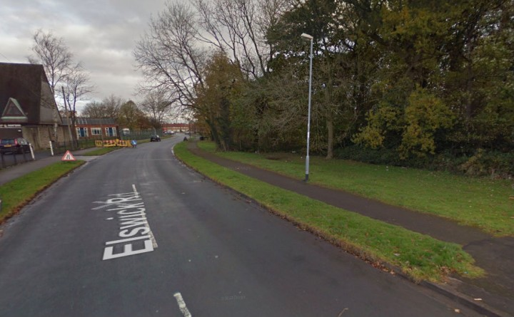 Elswick Road where the suspected arson took place Pic: Google