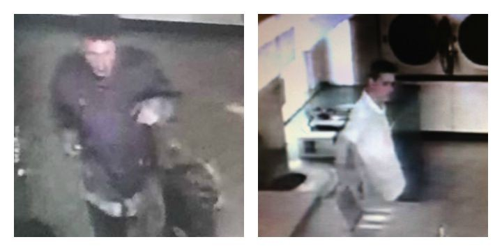CCTV pictures released by Preston Police of two men they would like to speak to