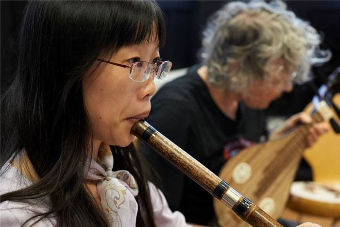 The Long Walk Chinese Orchestra play Lancashire Encounter on Saturday