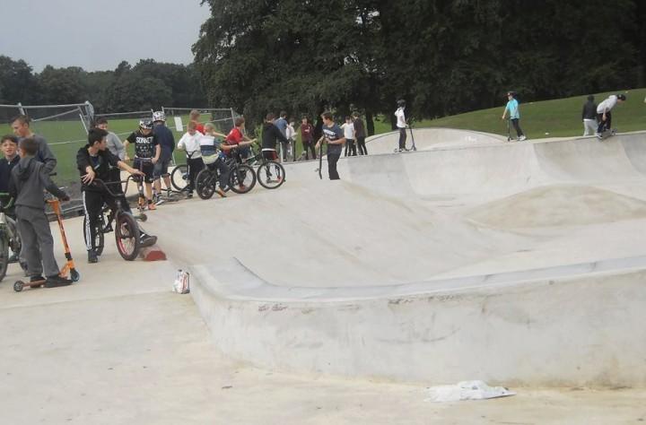 Moor Park Skate Park already proving popular