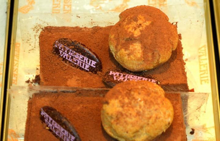 Fresh cakes in the Patisserie Valerie in Preston Pic: Tony Worrall