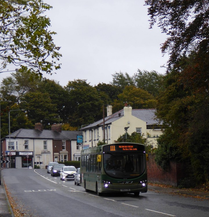 The green buses have been a familiar sight for decades in Preston Pic: Heather Crook